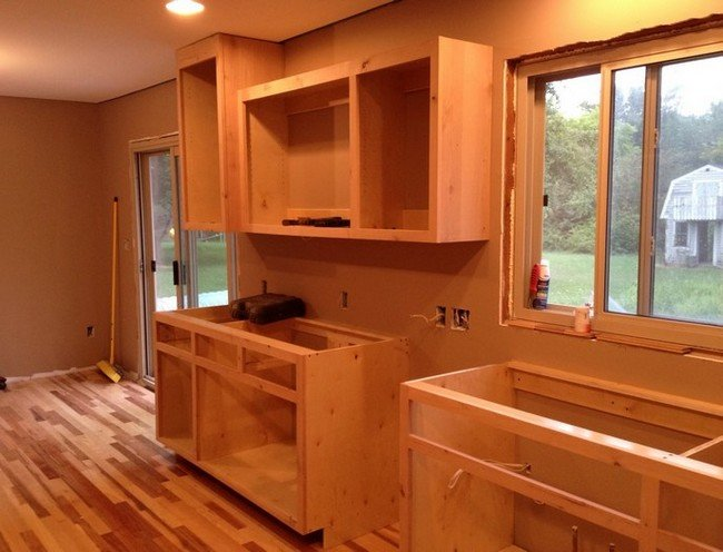 Modern Style Building Kitchen Cabinets With Build Your Own